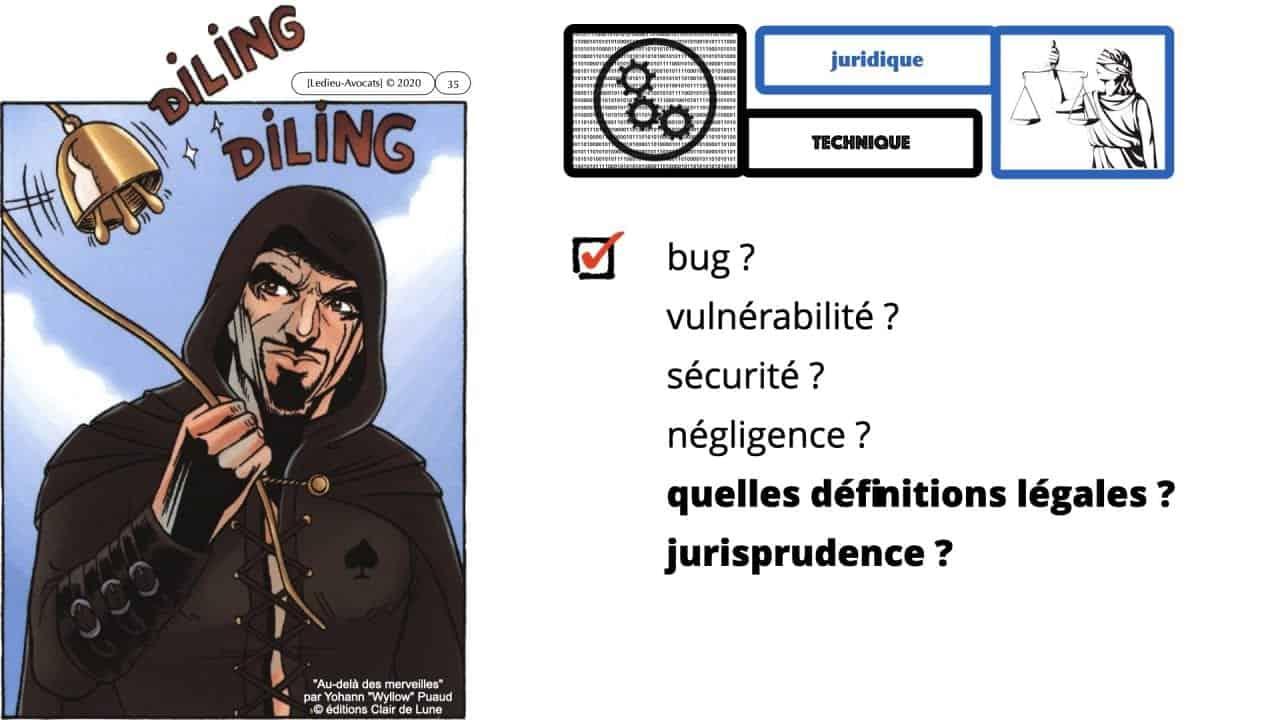 293-Vulnérabilité-bug-négligence-et-responsabilité-des-DSI-RSSI-conférence-OSSIR-169°-©-Ledieu-Avocats-09-06-2020.035-1280x720