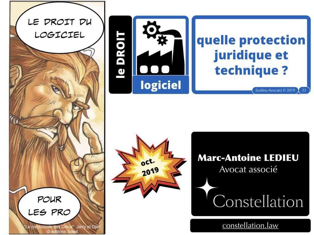 LOGICIEL quelle protection juridique et technique ?