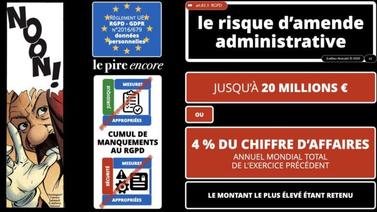 306 RGPD et jurisprudence e-Privacy données-personnelles 16:9 ©Ledieu-Avocats 05-10-2020 formation Les Echos Lamy Conference.041