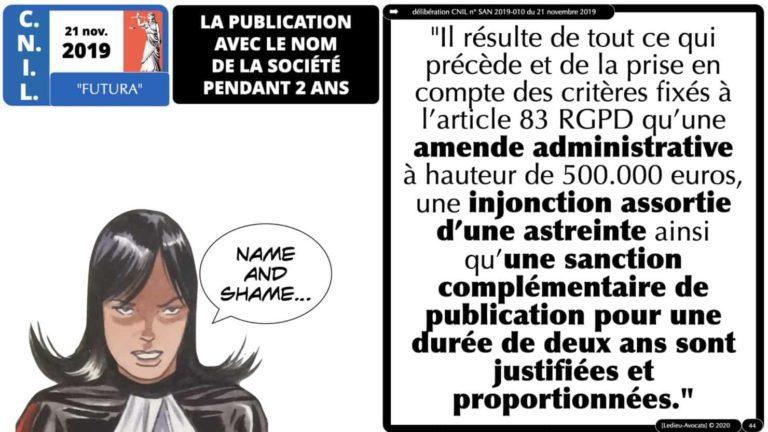 306 RGPD et jurisprudence e-Privacy données-personnelles 16:9 ©Ledieu-Avocats 05-10-2020 formation Les Echos Lamy Conference.044