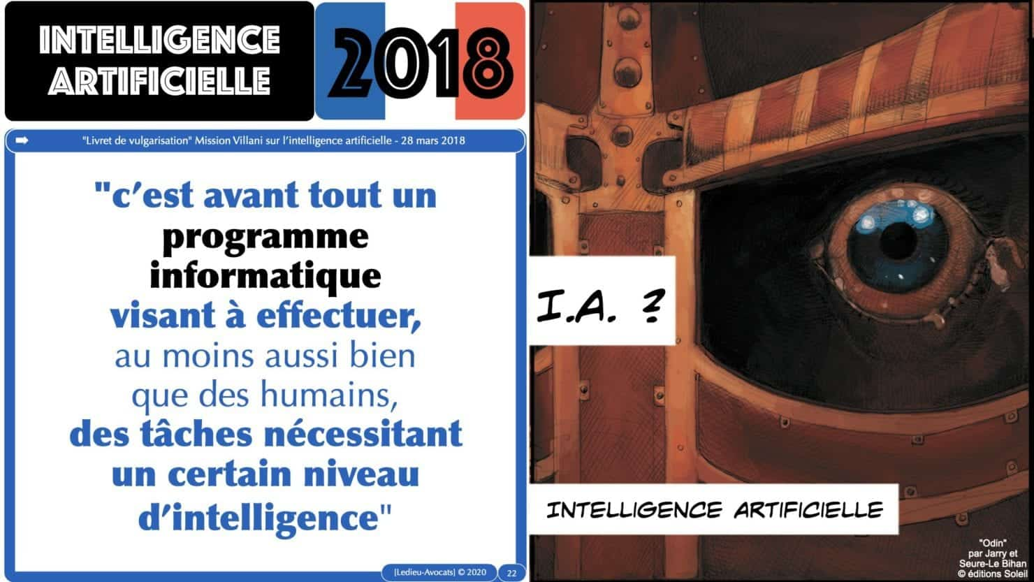 Intelligence artificielle Rapport Vilani 2018
