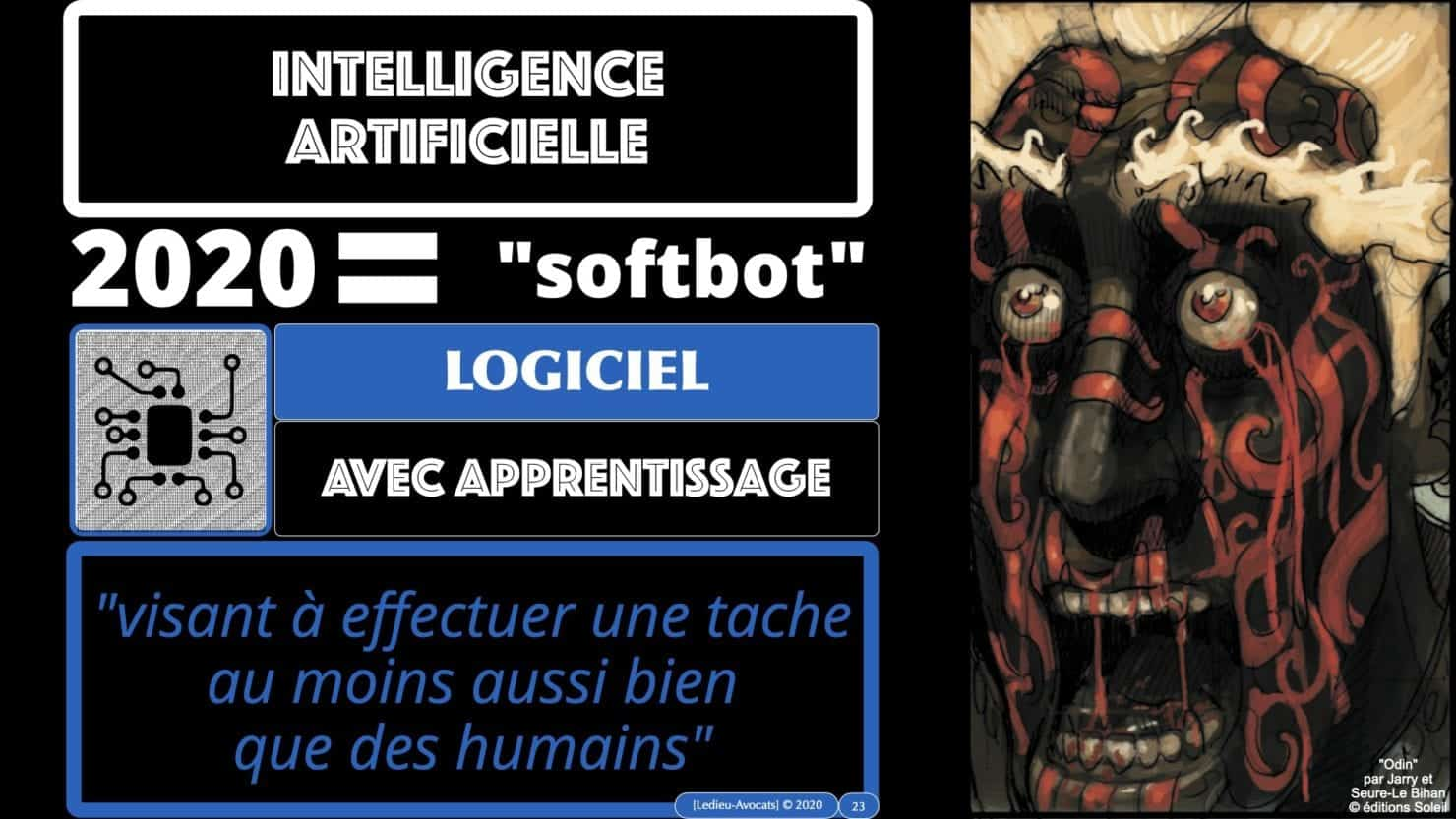 Intelligence artificielle softbot