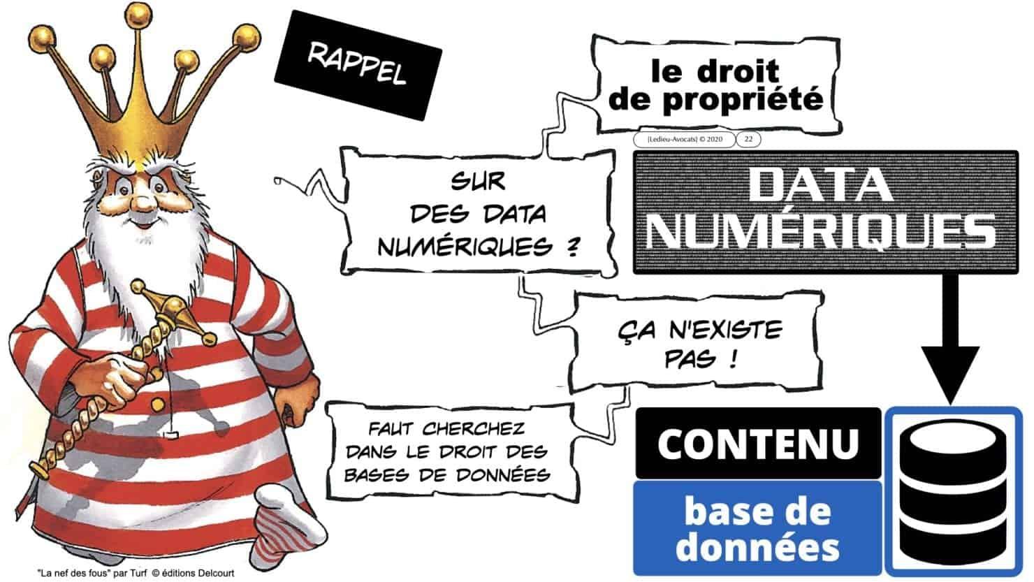 un droit de propriété sur des data numériques ?