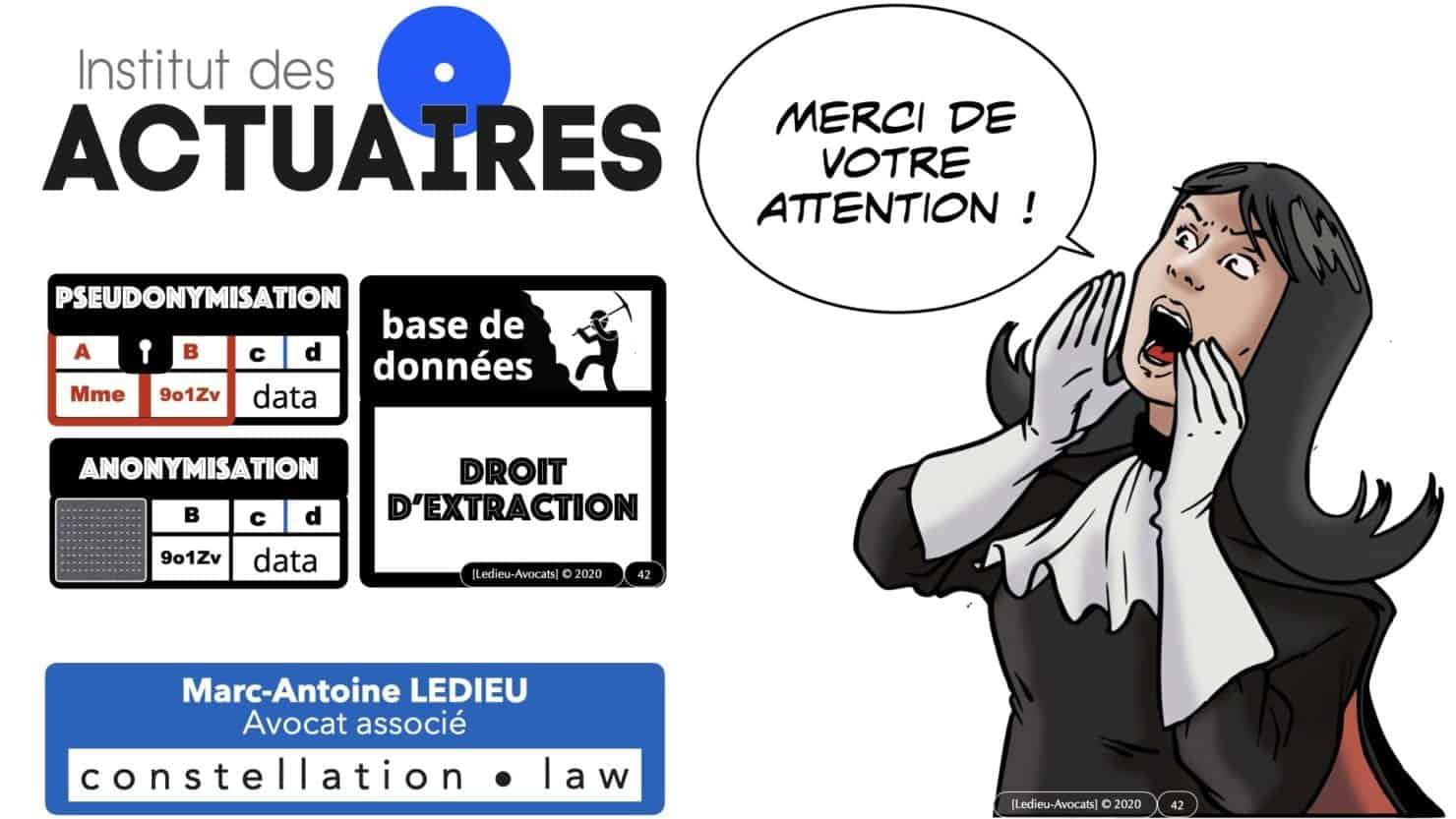 309 pseudonymisation et anonymisation des bases de données pour ACTUAIRE *16:9* © Ledieu-avocat 01-11-2020.042