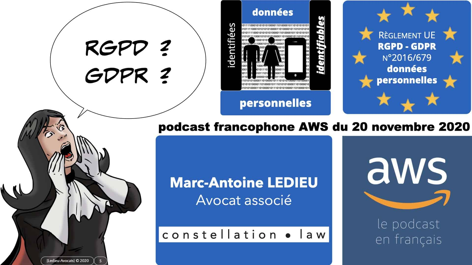312 AWS PODCAST RGPD [20-11-2020] *16:9* © Ledieu-Avocats 20-11-2020.005