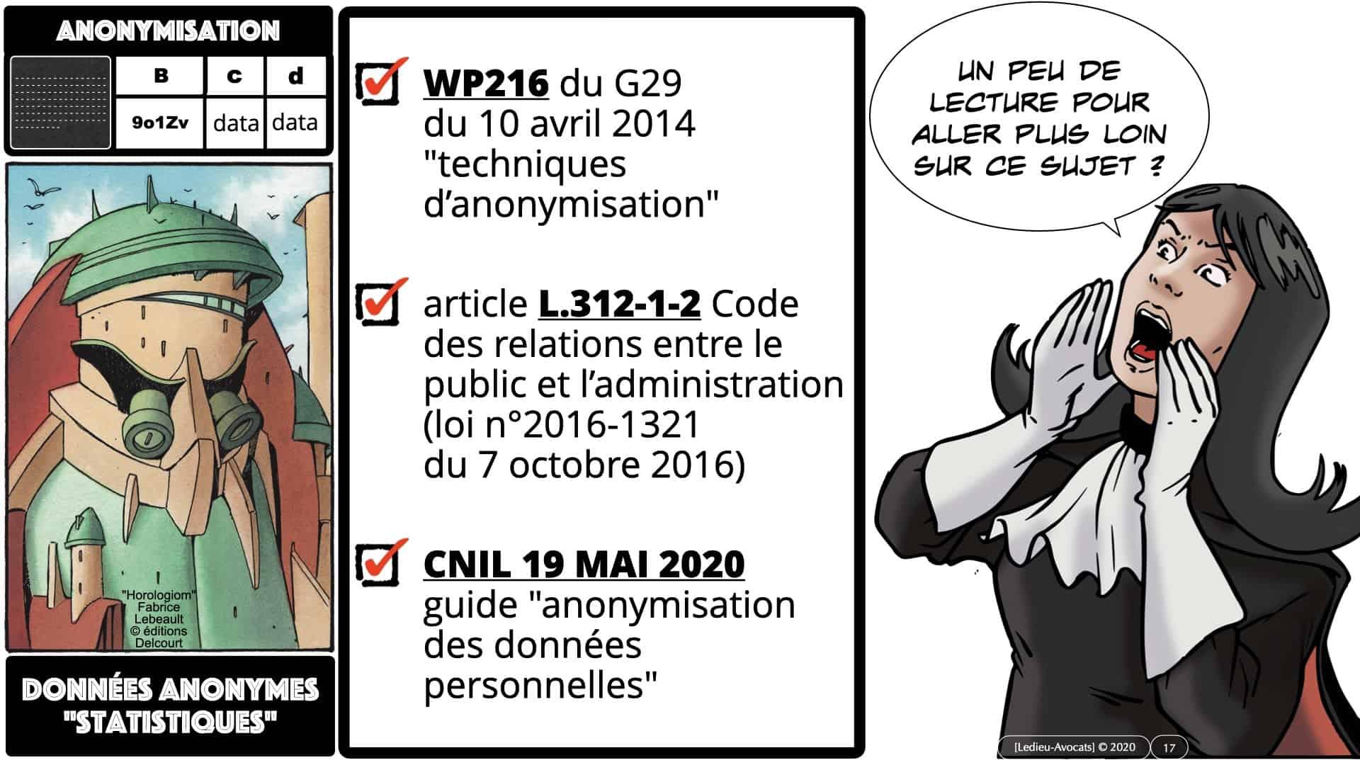 pseudonymisation données ACTUAIRES *16:9* © Ledieu-Avocats 06-11-2020.017