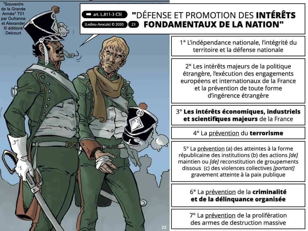 """information renseignement 002 les 7 missions des Services sp""""coalisés de renseignement"""