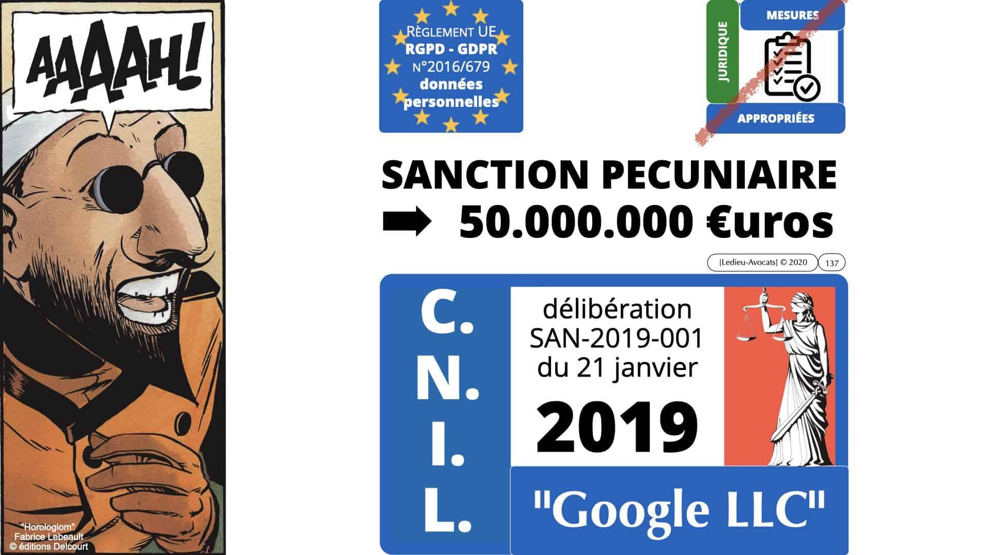 RGPD e-Privacy données personnelles jurisprudence formation Lamy Les Echos 10-02-2021 ©Ledieu-Avocats.137