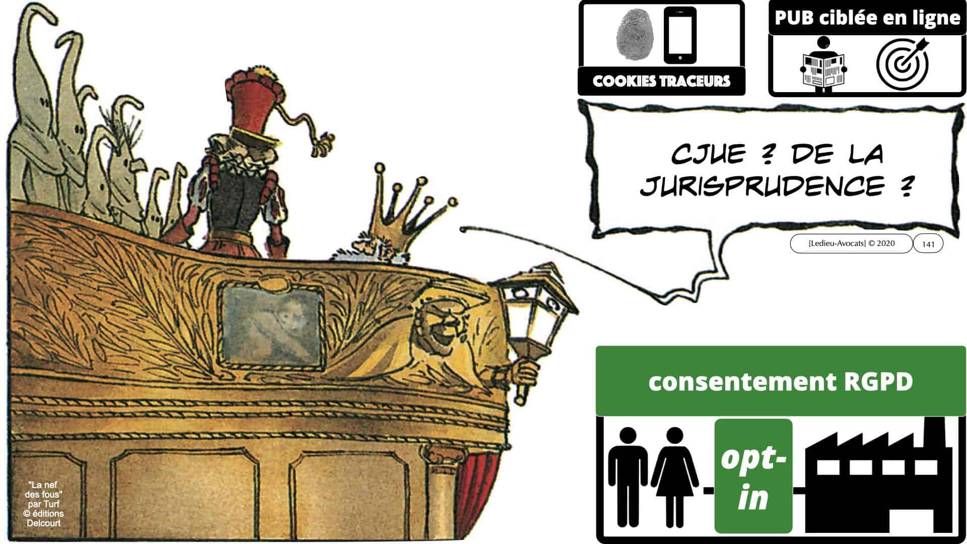 RGPD e-Privacy données personnelles jurisprudence formation Lamy Les Echos 10-02-2021 ©Ledieu-Avocats.141