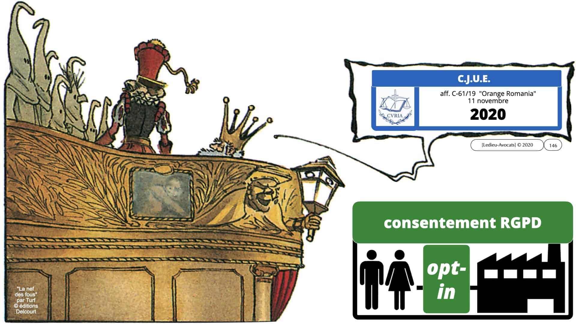 RGPD e-Privacy données personnelles jurisprudence formation Lamy Les Echos 10-02-2021 ©Ledieu-Avocats.146