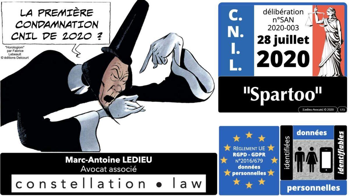 RGPD e-Privacy données personnelles jurisprudence formation Lamy Les Echos 10-02-2021 ©Ledieu-Avocats.173