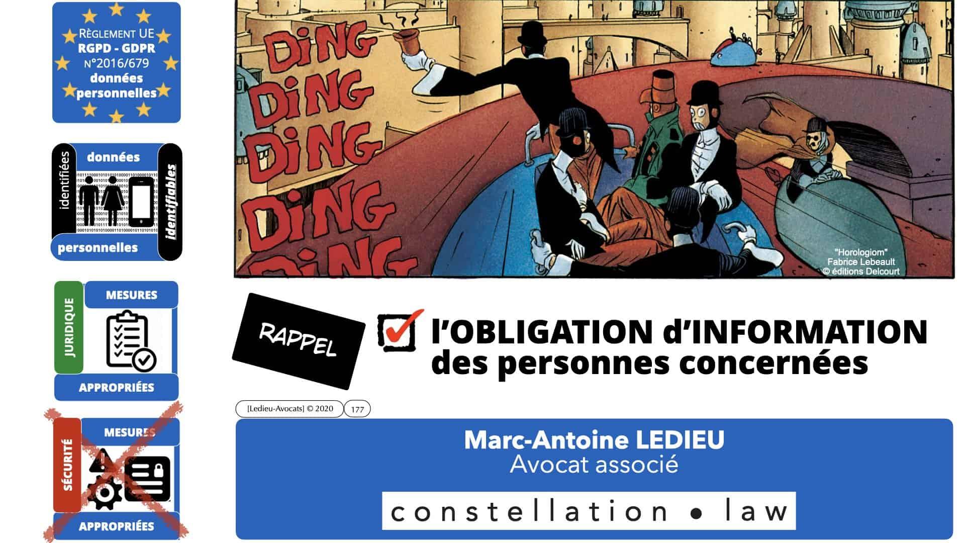 RGPD e-Privacy données personnelles jurisprudence formation Lamy Les Echos 10-02-2021 ©Ledieu-Avocats.177