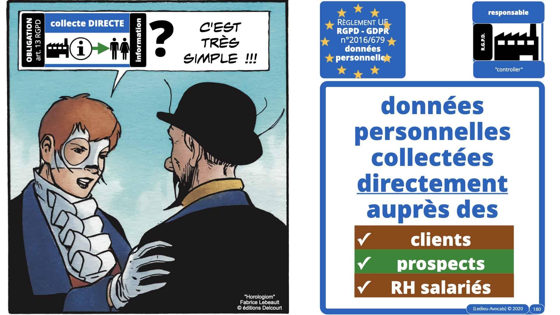 RGPD e-Privacy données personnelles jurisprudence formation Lamy Les Echos 10-02-2021 ©Ledieu-Avocats.180