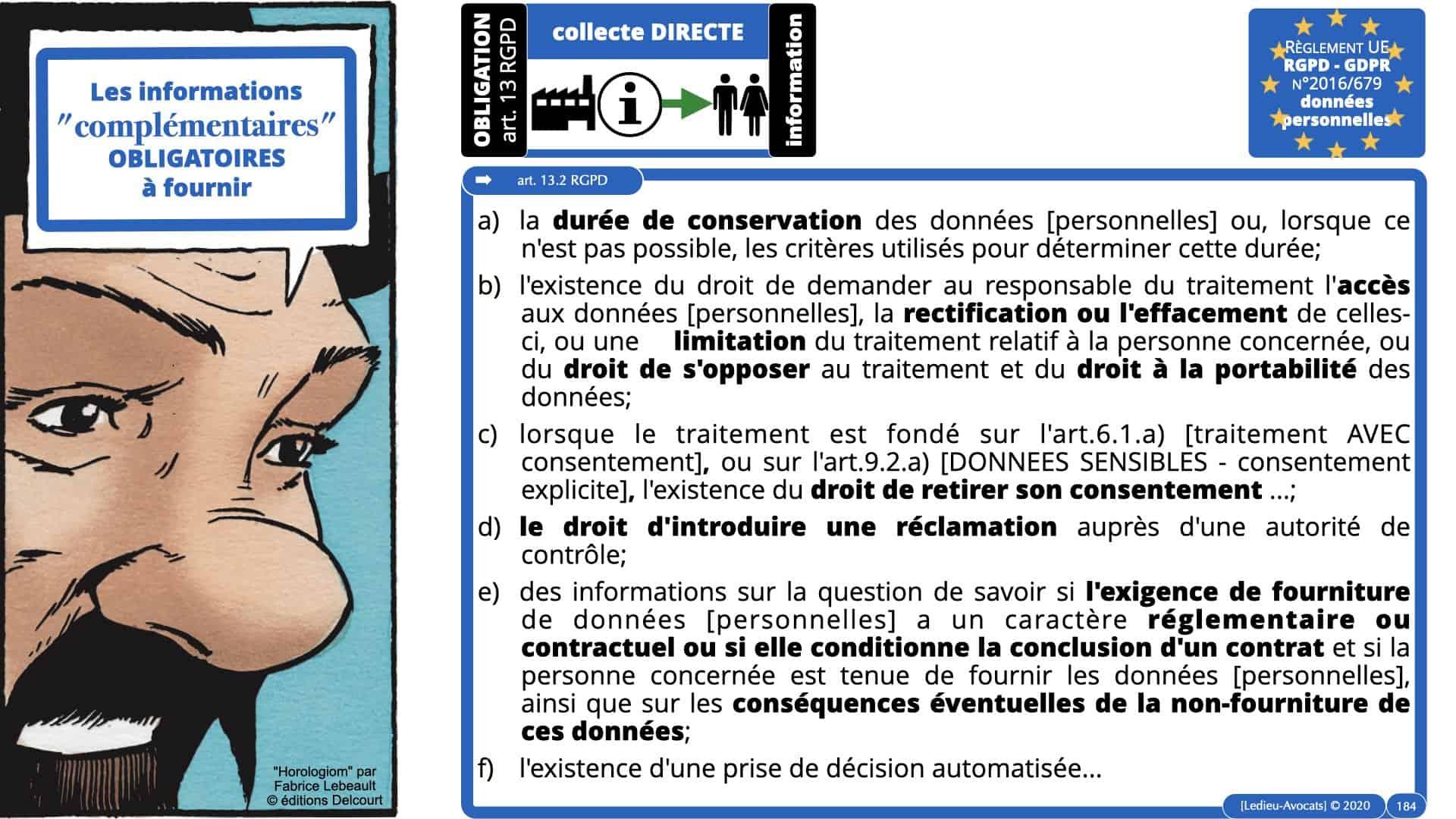 RGPD e-Privacy données personnelles jurisprudence formation Lamy Les Echos 10-02-2021 ©Ledieu-Avocats.184