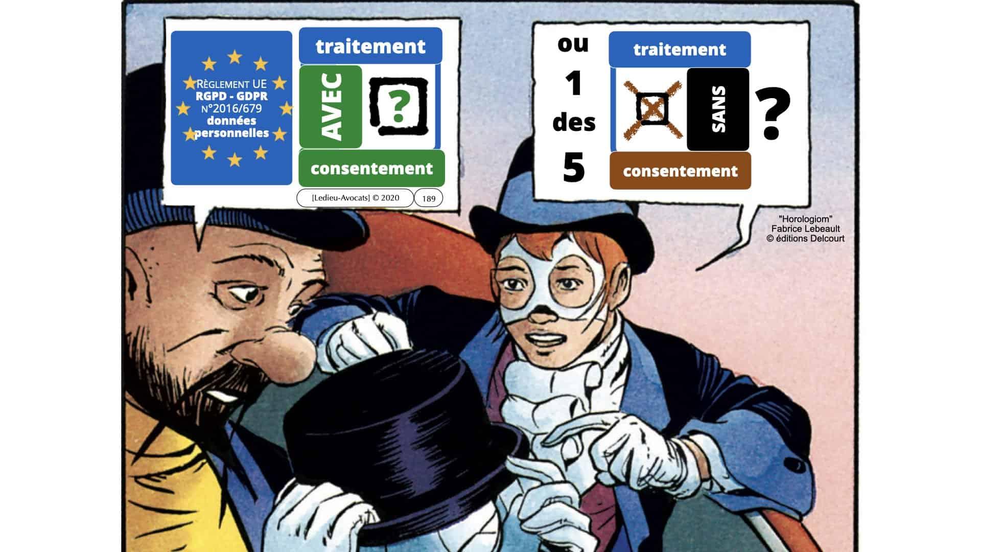RGPD e-Privacy données personnelles jurisprudence formation Lamy Les Echos 10-02-2021 ©Ledieu-Avocats.189