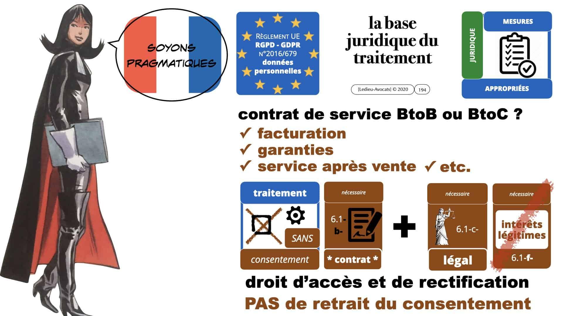 RGPD e-Privacy données personnelles jurisprudence formation Lamy Les Echos 10-02-2021 ©Ledieu-Avocats.194