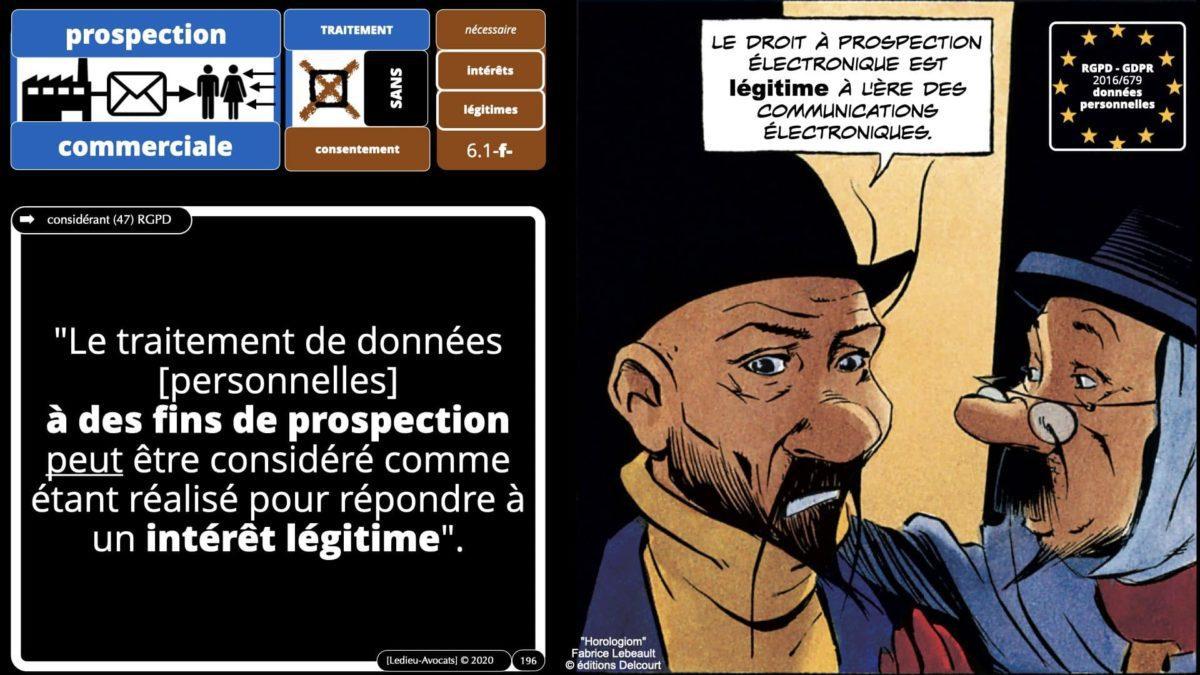 RGPD e-Privacy données personnelles jurisprudence formation Lamy Les Echos 10-02-2021 ©Ledieu-Avocats.196