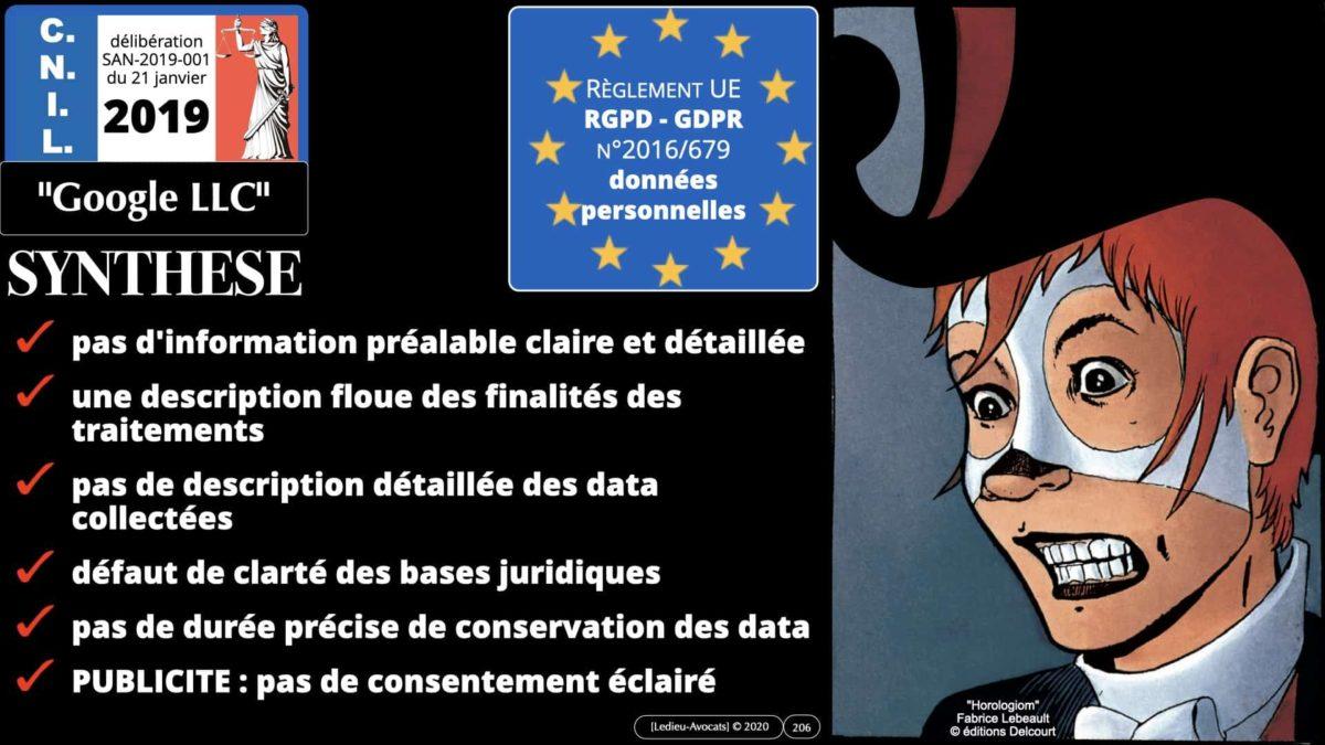 RGPD e-Privacy données personnelles jurisprudence formation Lamy Les Echos 10-02-2021 ©Ledieu-Avocats.206