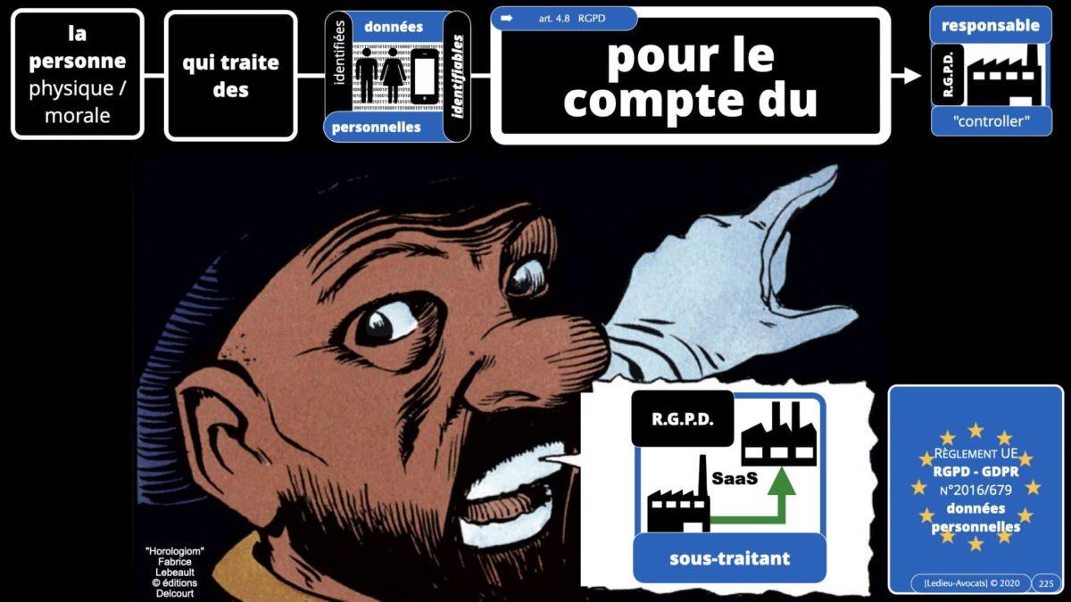RGPD e-Privacy données personnelles jurisprudence formation Lamy Les Echos 10-02-2021 ©Ledieu-Avocats.225