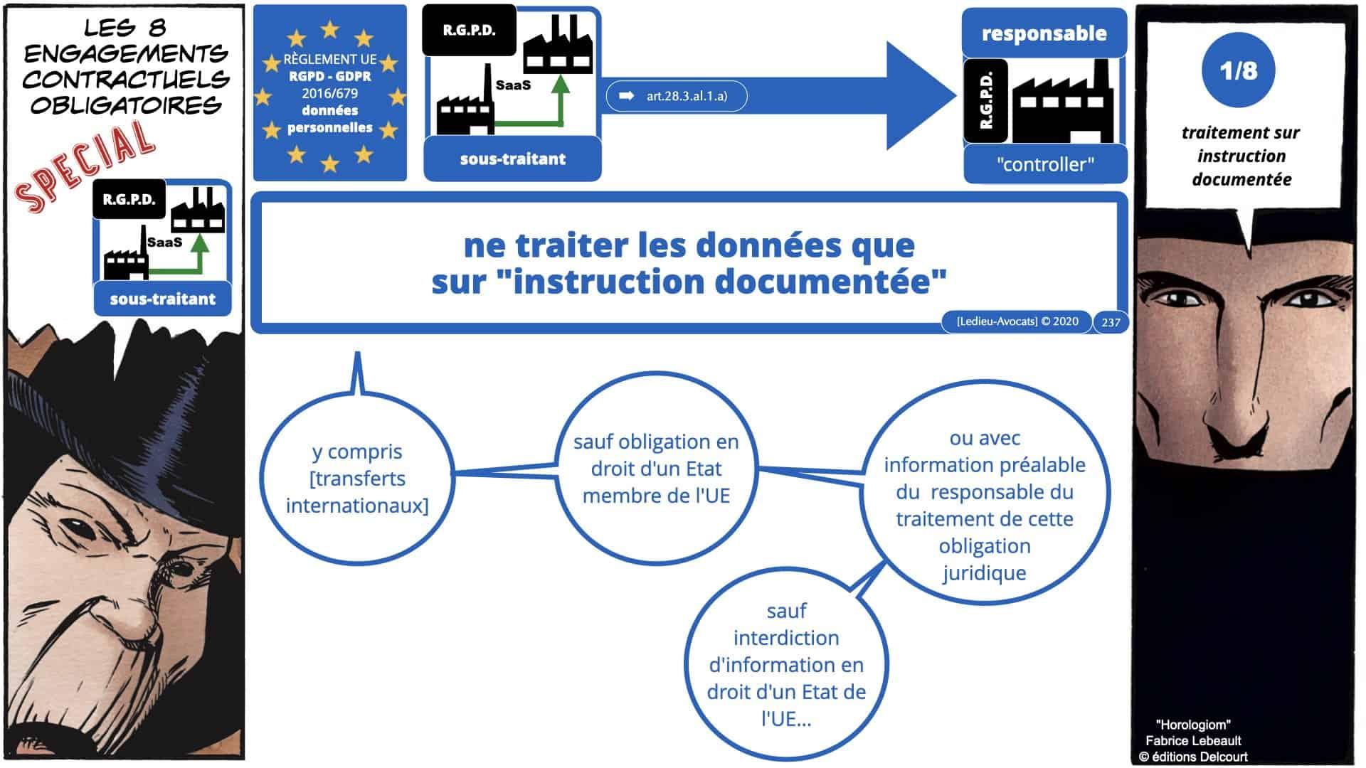 RGPD e-Privacy données personnelles jurisprudence formation Lamy Les Echos 10-02-2021 ©Ledieu-Avocats.237