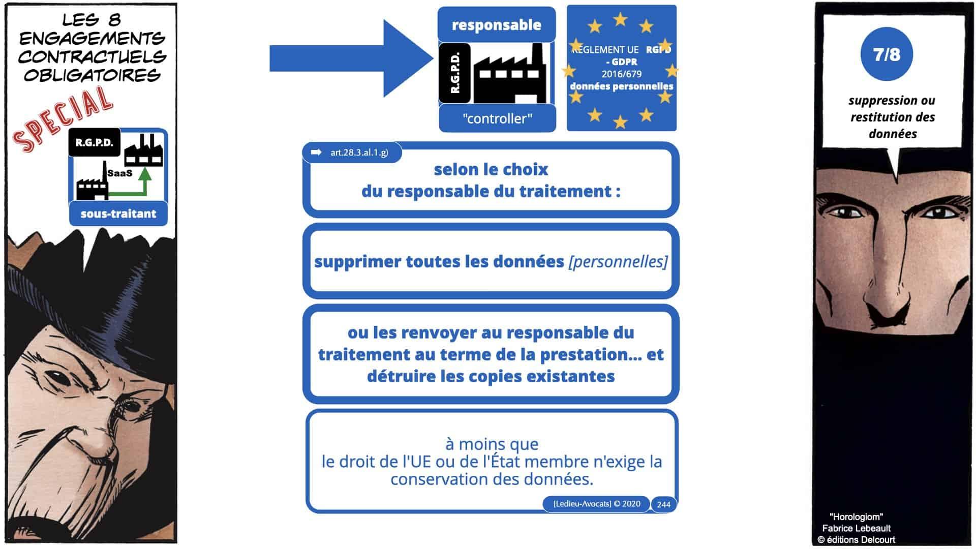 RGPD e-Privacy données personnelles jurisprudence formation Lamy Les Echos 10-02-2021 ©Ledieu-Avocats.244