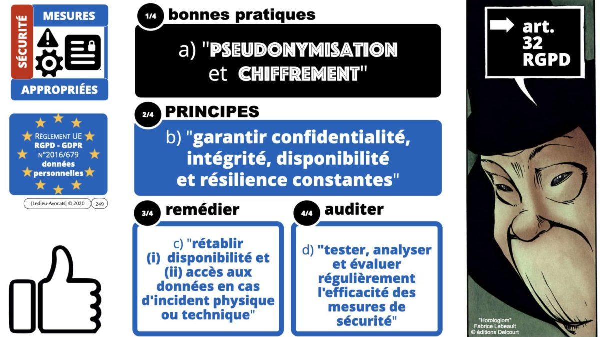 RGPD e-Privacy données personnelles jurisprudence formation Lamy Les Echos 10-02-2021 ©Ledieu-Avocats.249