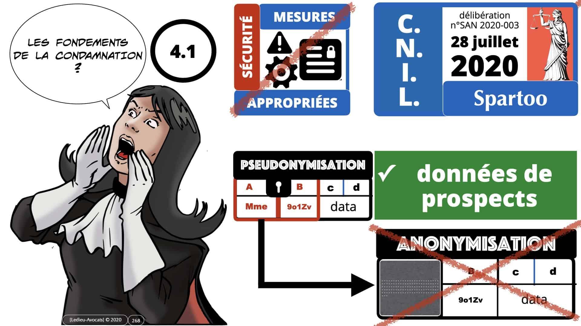 RGPD e-Privacy données personnelles jurisprudence formation Lamy Les Echos 10-02-2021 ©Ledieu-Avocats.268