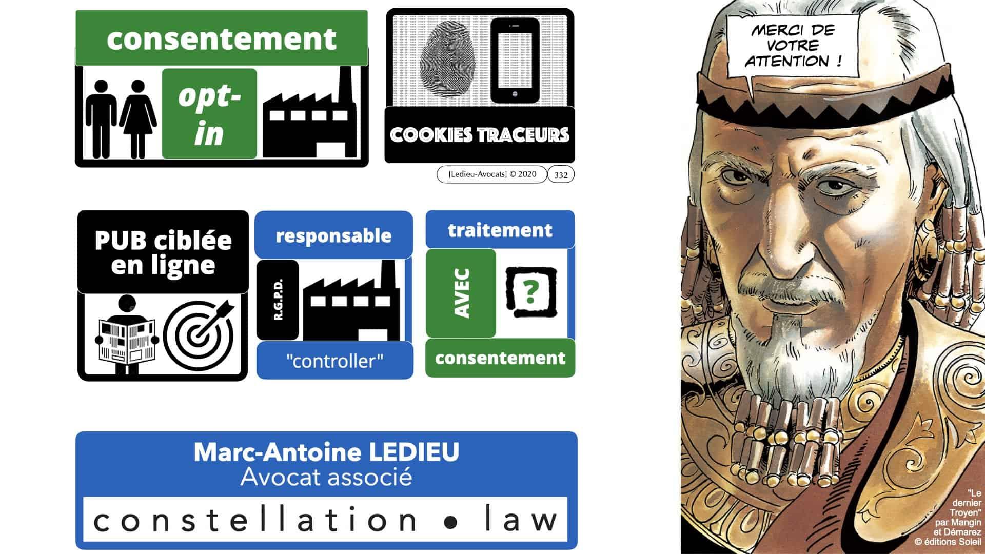 RGPD e-Privacy données personnelles jurisprudence formation Lamy Les Echos 10-02-2021 ©Ledieu-Avocats.332