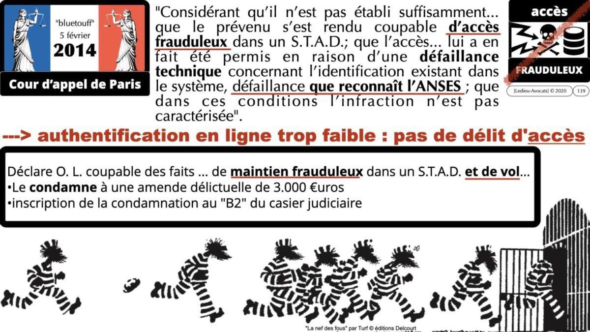 333 CYBER ATTAQUE responsabilité pénale civile contrat © Ledieu-Avocats 23-05-2021.139
