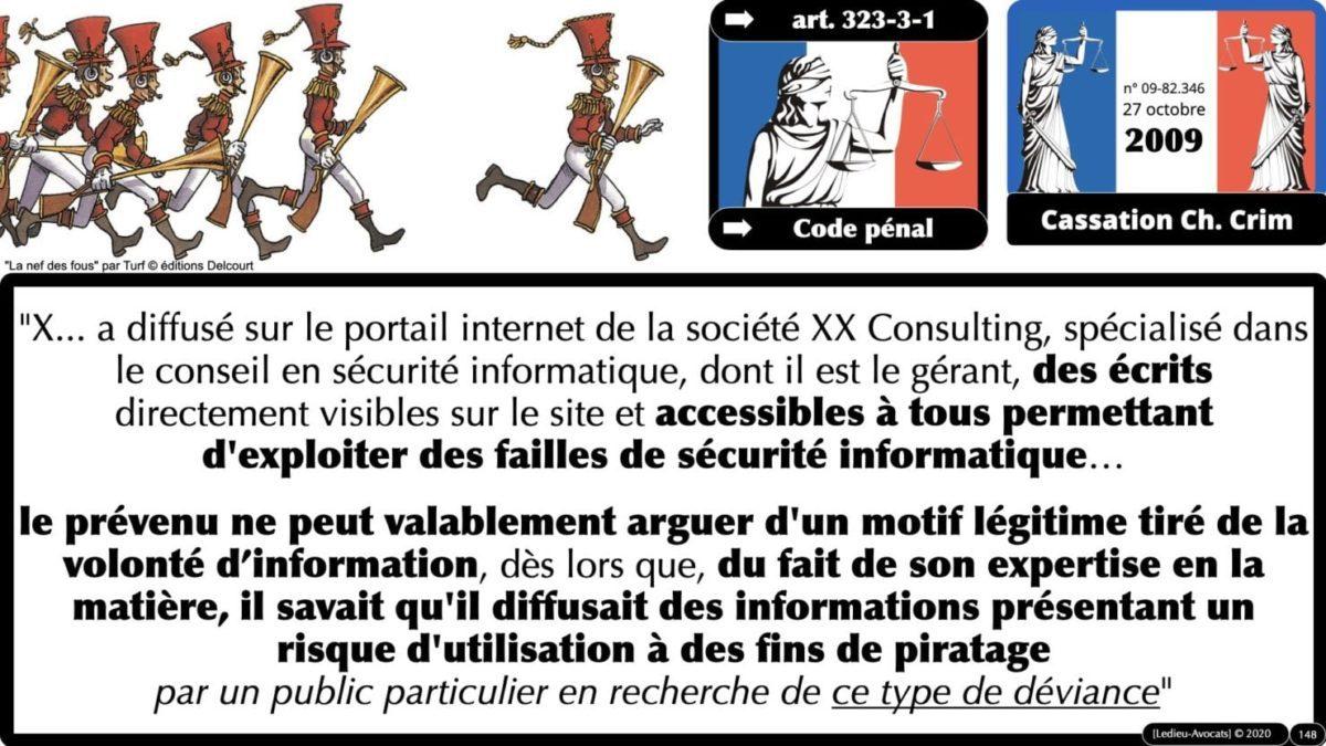 333 CYBER ATTAQUE responsabilité pénale civile contrat © Ledieu-Avocats 23-05-2021.148