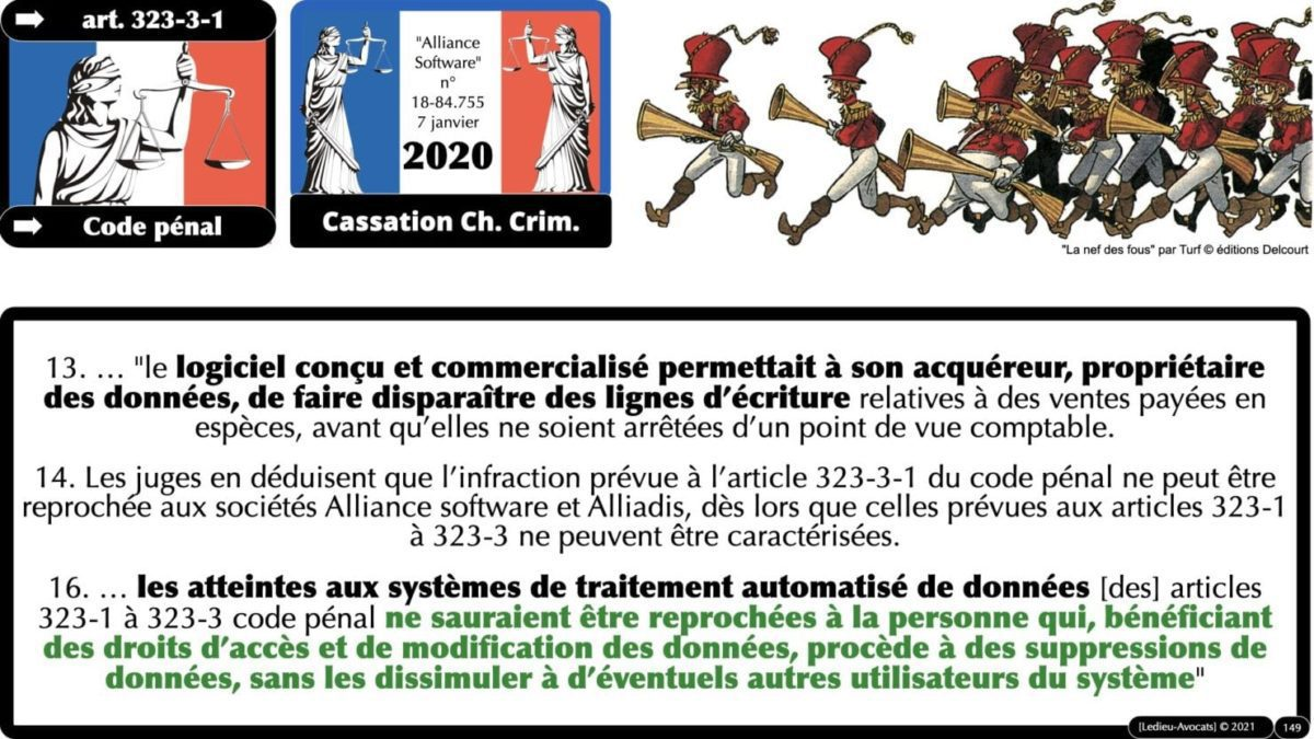 333 CYBER ATTAQUE responsabilité pénale civile contrat © Ledieu-Avocats 23-05-2021.149