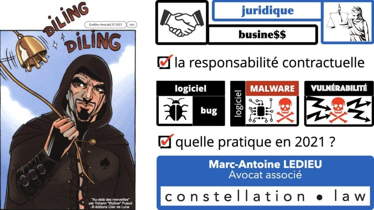 333 CYBER ATTAQUE responsabilité pénale civile contrat © Ledieu-Avocats 23-05-2021.191
