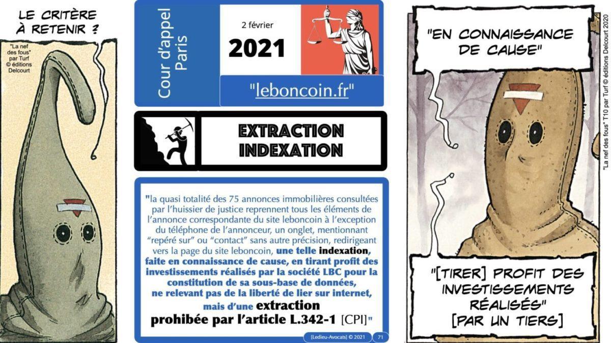 334 extraction indexation BASE DE DONNEES © Ledieu-avocat 24-05-2021.071