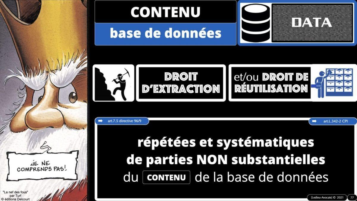 334 extraction indexation BASE DE DONNEES © Ledieu-avocat 24-05-2021.077