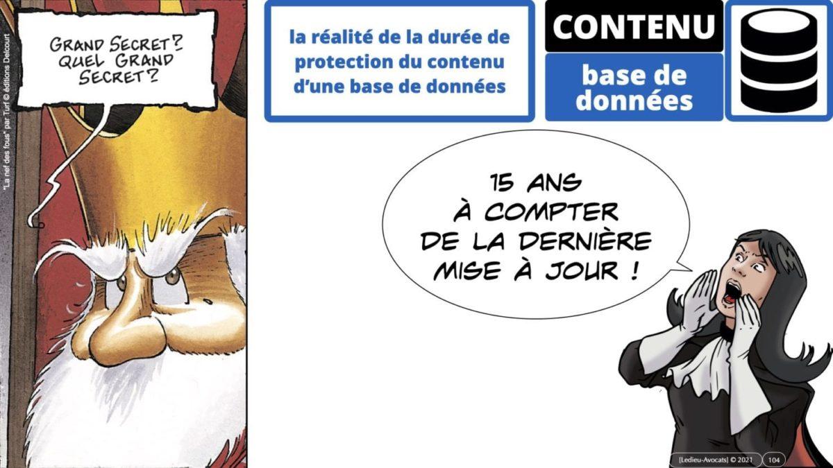 334 extraction indexation BASE DE DONNEES © Ledieu-avocat 24-05-2021.104