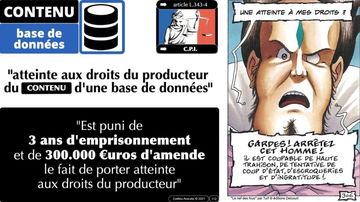 334 extraction indexation BASE DE DONNEES © Ledieu-avocat 24-05-2021.112