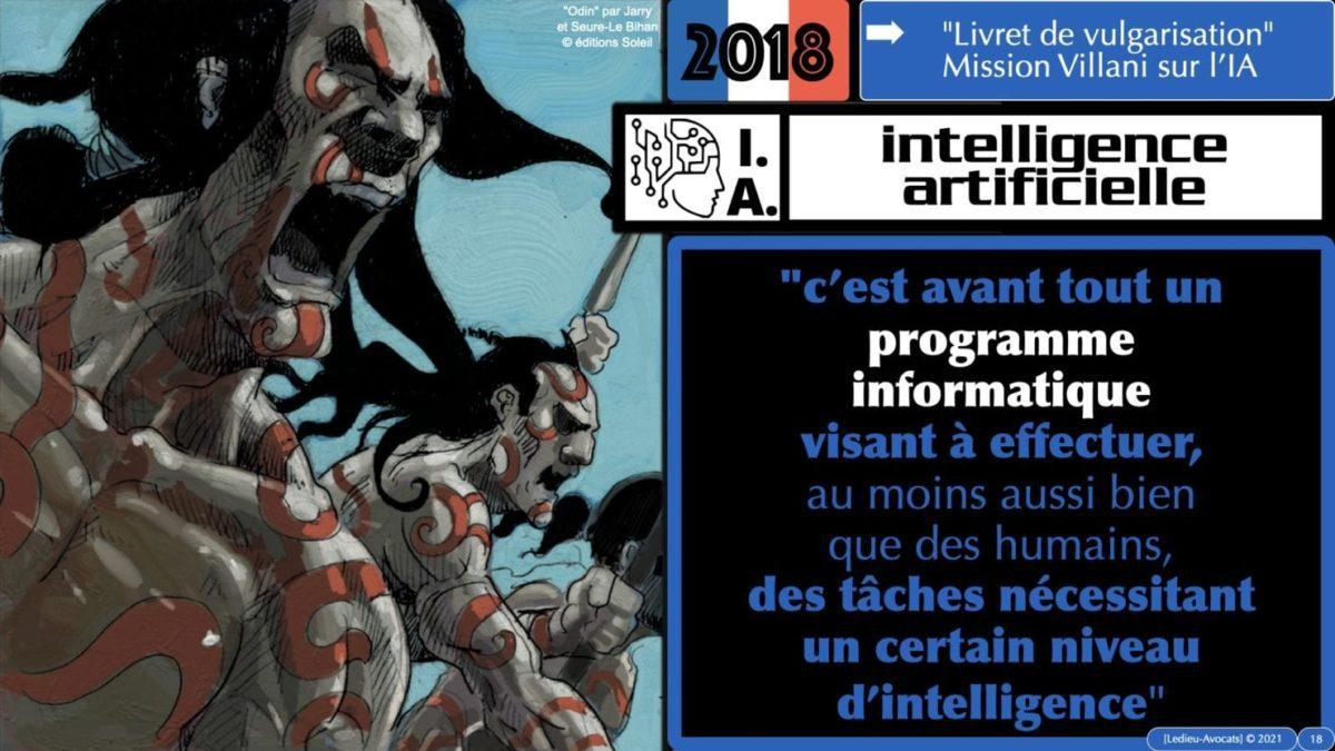 335 Intelligence Artificielle 2021 et AI Act [projet de Règlement UE] deep learning machine learning © Ledieu-Avocats 04-06-2021 *16:9*.018