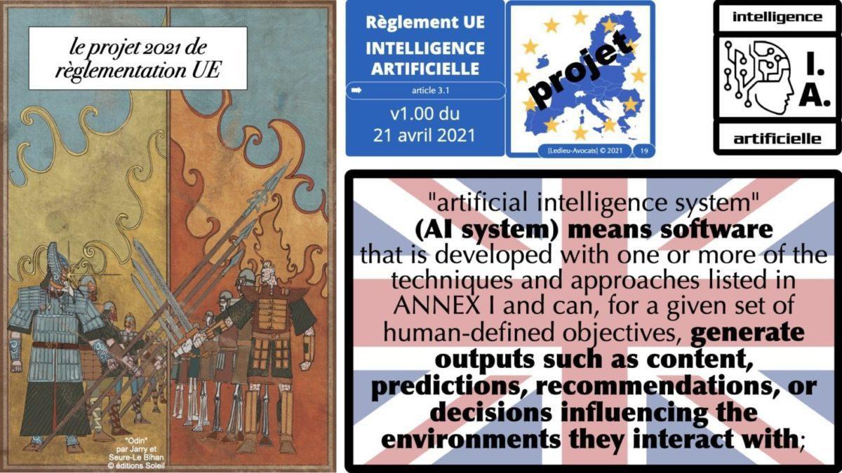 335 Intelligence Artificielle 2021 et AI Act [projet de Règlement UE] deep learning machine learning © Ledieu-Avocats 04-06-2021 *16:9*.019