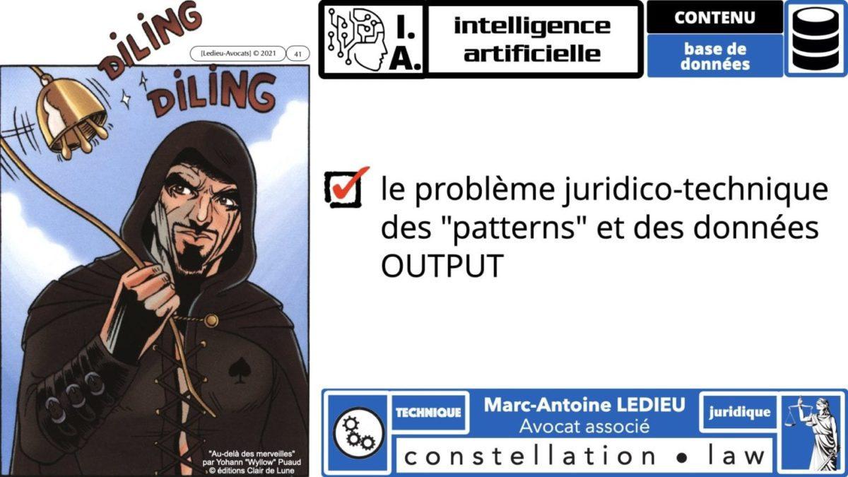 335 Intelligence Artificielle 2021 et AI Act [projet de Règlement UE] deep learning machine learning © Ledieu-Avocats 04-06-2021 *16:9*.041