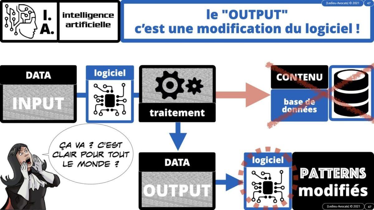 335 Intelligence Artificielle 2021 et AI Act [projet de Règlement UE] deep learning machine learning © Ledieu-Avocats 04-06-2021 *16:9*.047