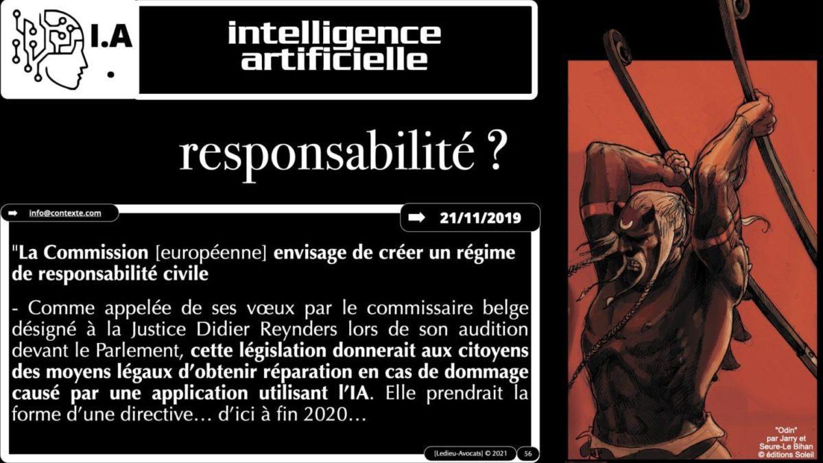 335 Intelligence Artificielle 2021 et AI Act [projet de Règlement UE] deep learning machine learning © Ledieu-Avocats 04-06-2021 *16:9*.056