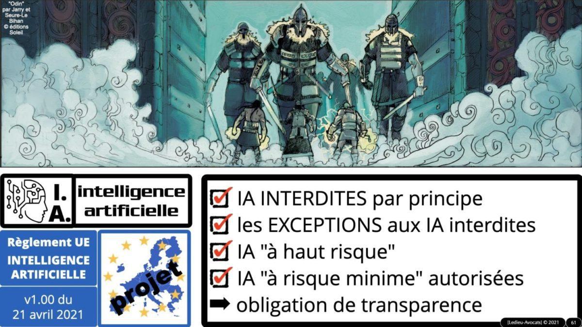 335 Intelligence Artificielle 2021 et AI Act [projet de Règlement UE] deep learning machine learning © Ledieu-Avocats 04-06-2021 *16:9*.061