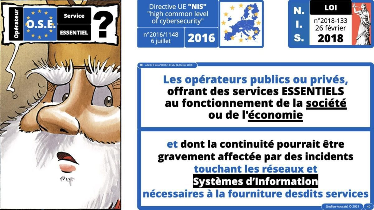 337 cyber sécurité #1 OIV OSE Critical Entities © Ledieu-avocat 15-06-2021.040