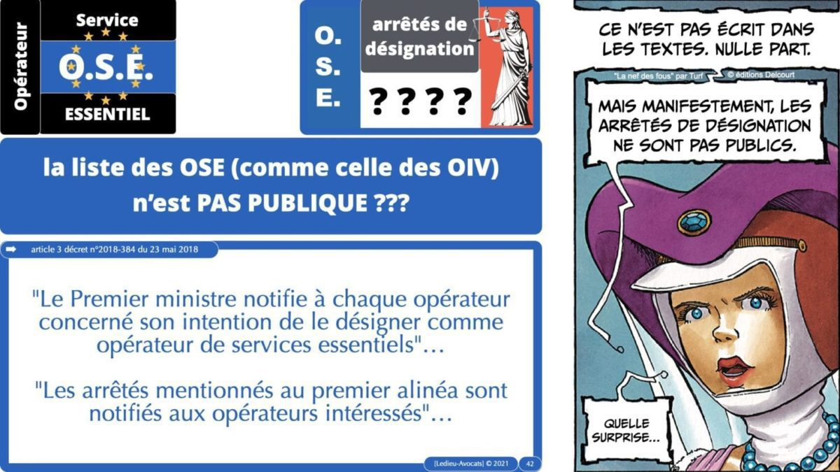 337 cyber sécurité #1 OIV OSE Critical Entities © Ledieu-avocat 15-06-2021.042