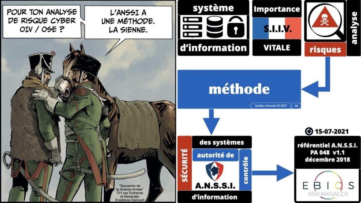 342 cyber sécurité #2 OIV OSE analyse risque EBIOS RM © Ledieu-avocat 15-07-2021.048