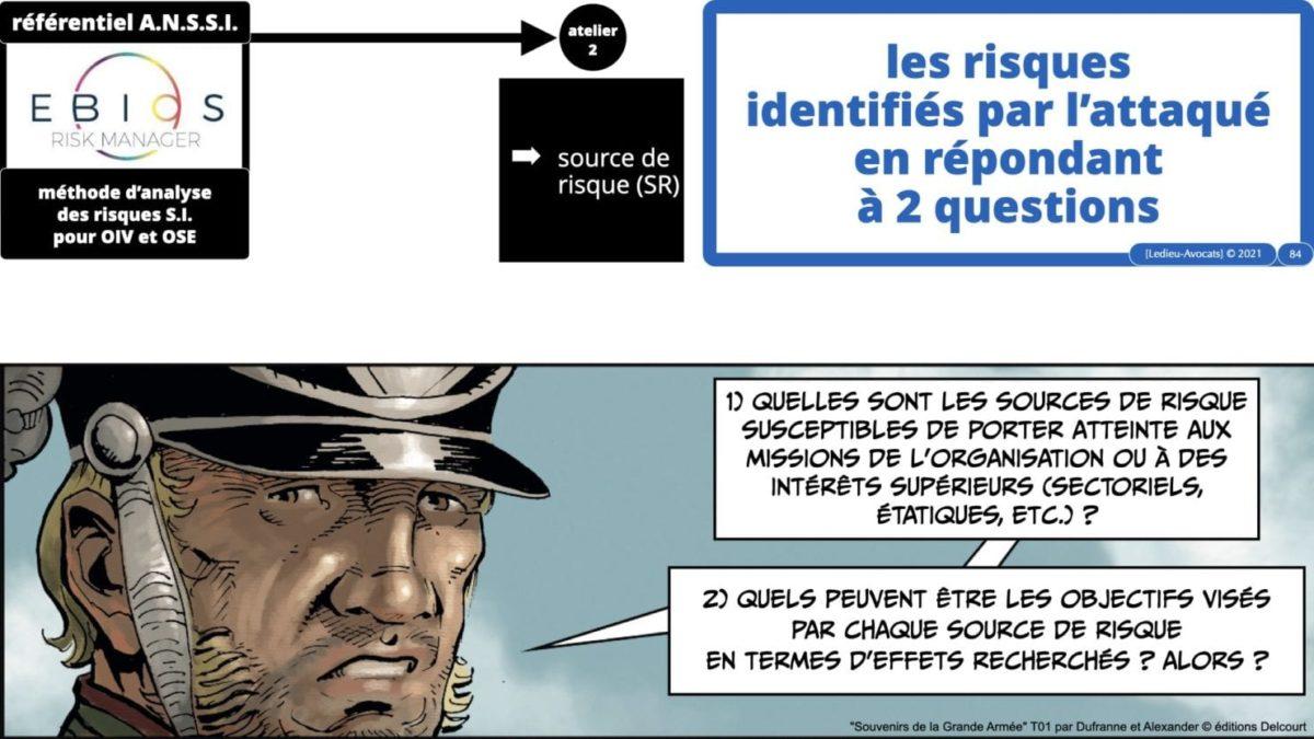 342 cyber sécurité #2 OIV OSE analyse risque EBIOS RM © Ledieu-avocat 15-07-2021.084