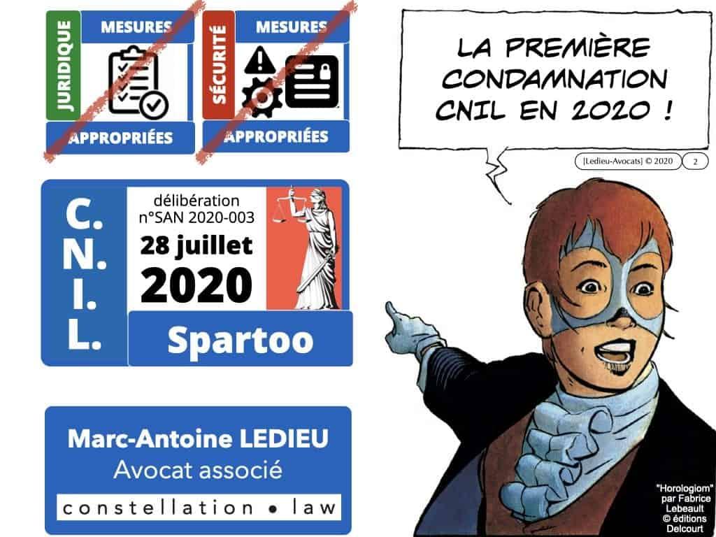 RGPD délibération CNIL SPARTOO du 28 juillet 2020 n°SAN 2020-003 ©Ledieu-Avocats 17-08-2020.002