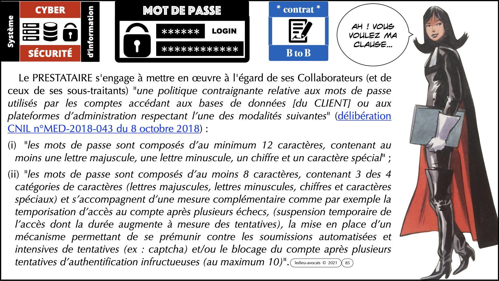 342 droit mot de passe OIV OSE ANALYSE de RISQUE EBIOS RM © Ledieu-Avocats technique droit numérique 05-09-2021.015