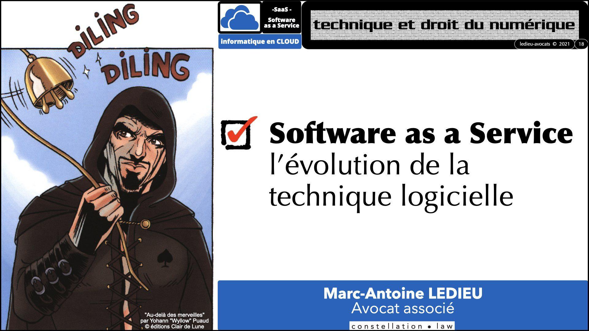 service logiciel SaaS 2021 : évolution technique