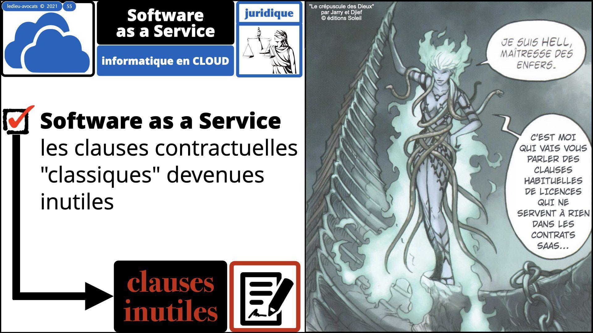 service LOGICIEL SaaS : les clauses contractuelles venues inutiles